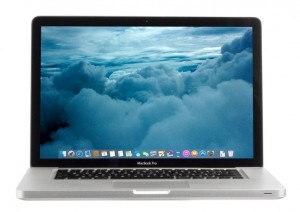 Apple MacBook PRO A1286 i7-2gen 4GB RAM 500GB HDD DVD-RW